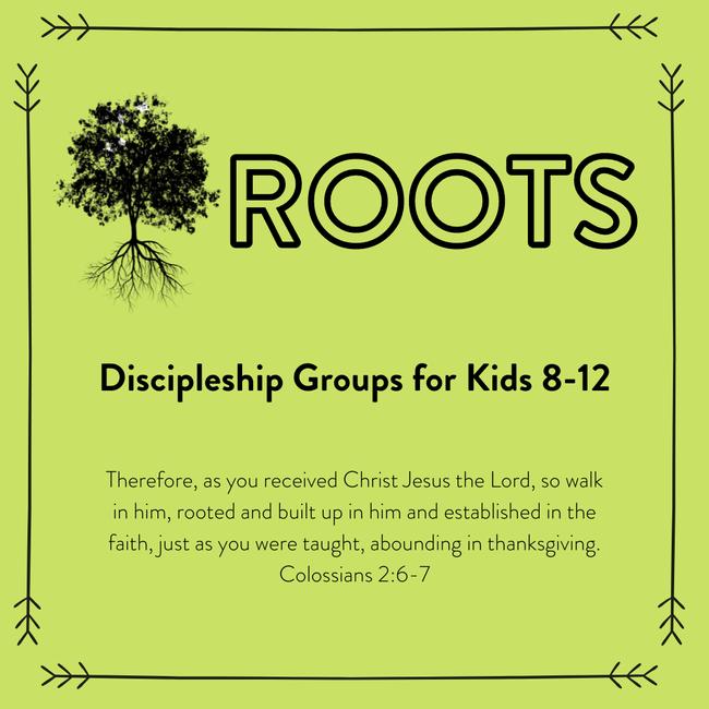 Roots kids childrens church dicipleship program sunday school church in beverly MA